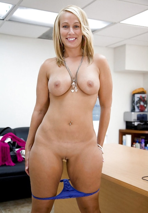 young naked girl in front of webcam