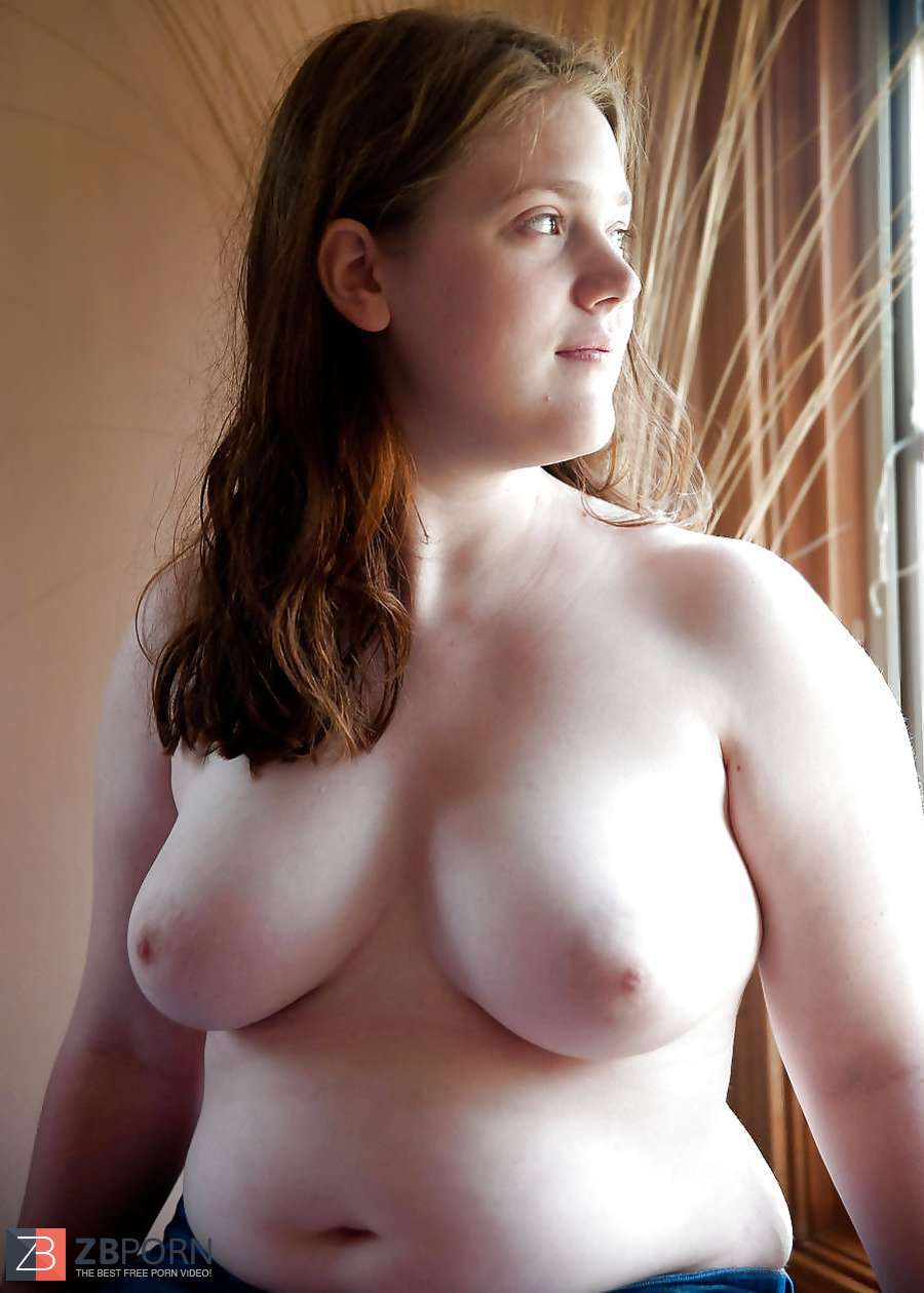 cute girl busty chest nude